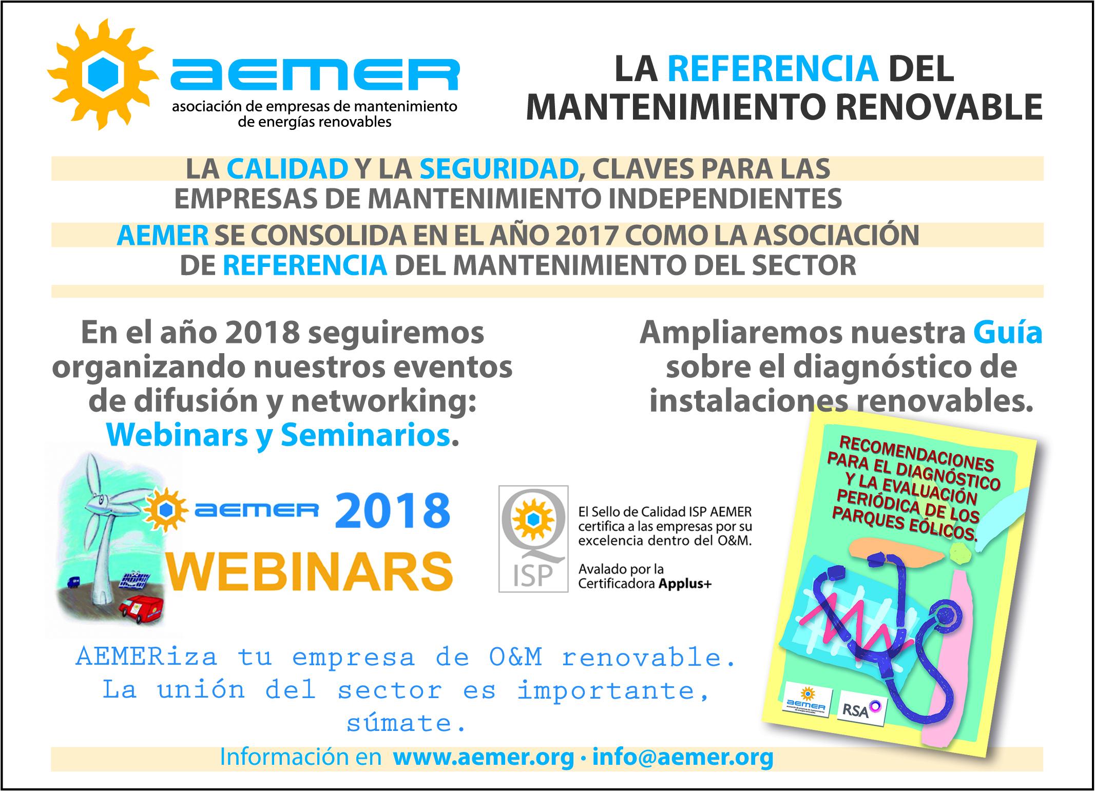 AEMER, La referencia del O&M Español