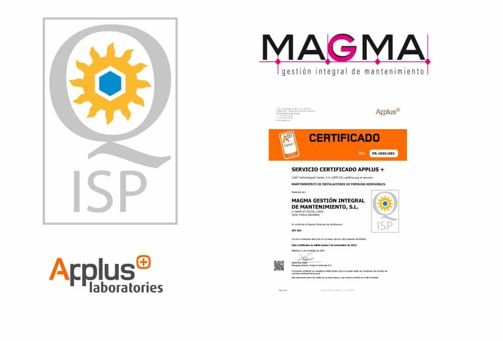 Empresa Certificada AEMER-ISP